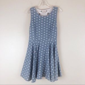 Chelsea & Violet Polka Dot Cut Out Dress Size 6